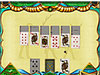 Solitaire Egypt game screenshot