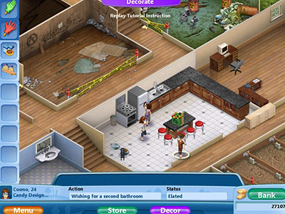 Virtual families 2 our dream house game download for Virtual house building games online